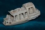 Elfenbeinmodell eines Bootes