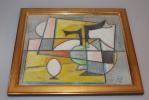 Gemälde abstrakte Komposition
