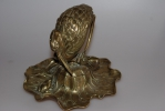 Bronze Jugendstil Tintenfass