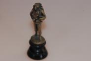 kleiner Bronze Soldat