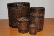 Messbecher aus Holz