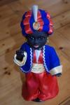 alte Sarotti Mohr Sammler Puppe - signiert EK - unbespielt