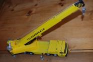 Kran - Teleskopkran - Kranwagen 1:50, MC Toy, ausziehbar bis ca.50cm