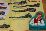 Werbeprospekt Märklin 1957