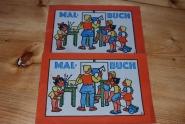 2 Malbuch / von Textilhaus Schöller Tuttlingen