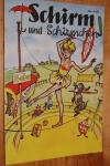 Schirm und Schirmchen Werbeheft von 1958