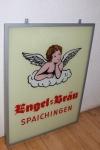 Werbeschild Engelbrauerei Spaichingen