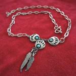 Silberkette mit Traumfänger Design