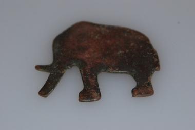 Elefant aus Kupfer Frühzeitlich