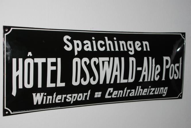 Emailschild Hotel Osswald Spaichingen