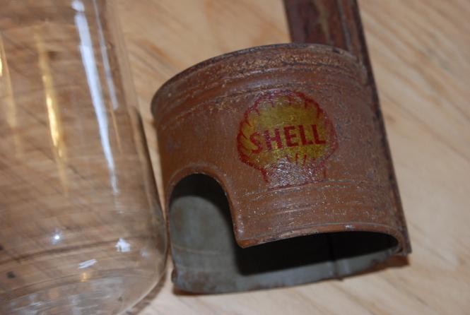 Seltener Ölspender Shell