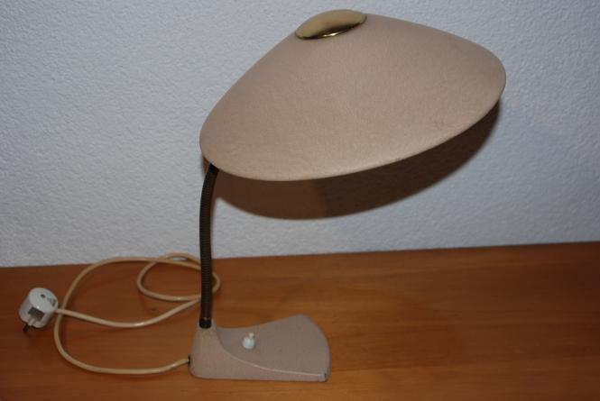 antik querbeet tischlampe 50iger jahre gunningen. Black Bedroom Furniture Sets. Home Design Ideas