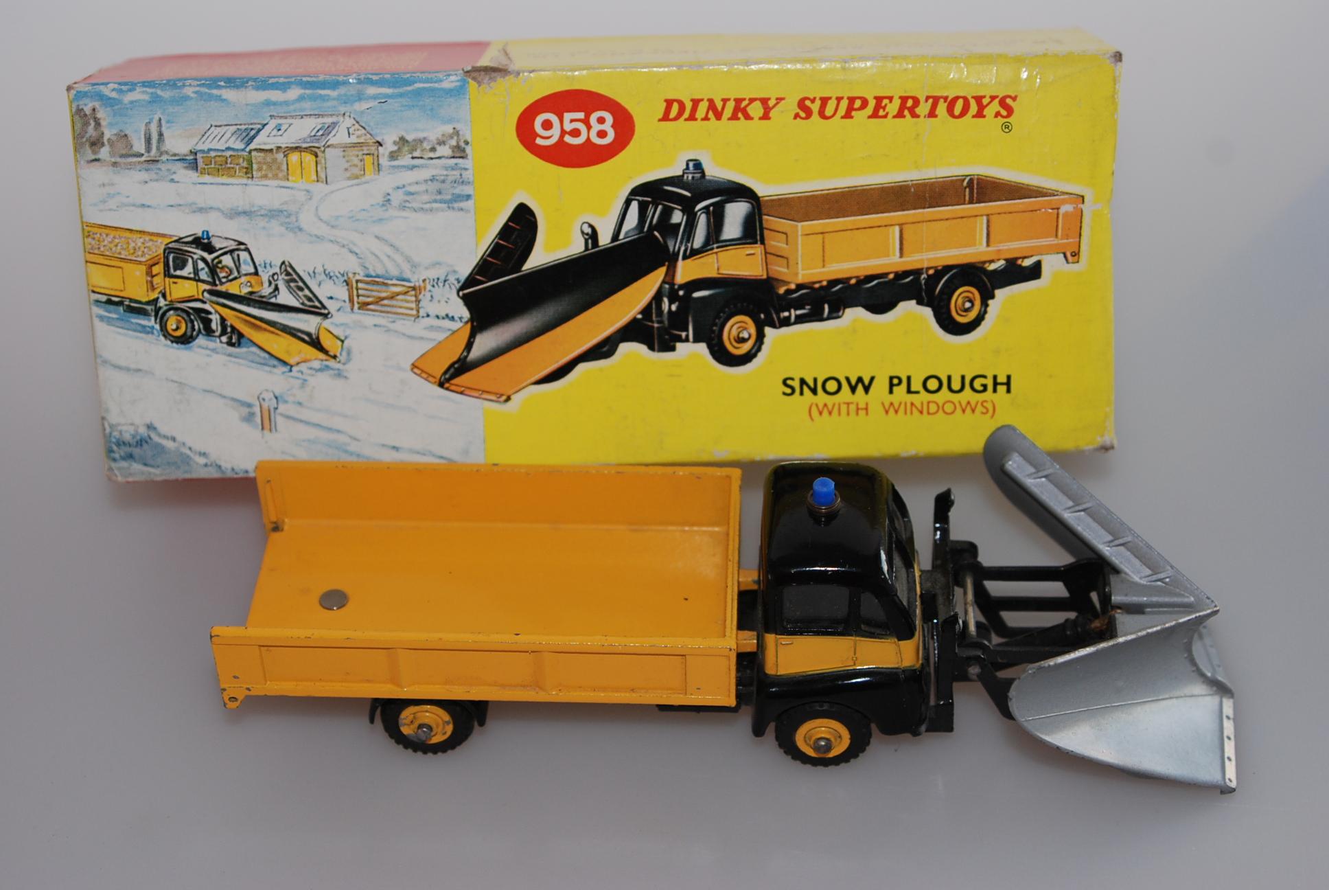 Dinky Supertoys 958 Snow Plough